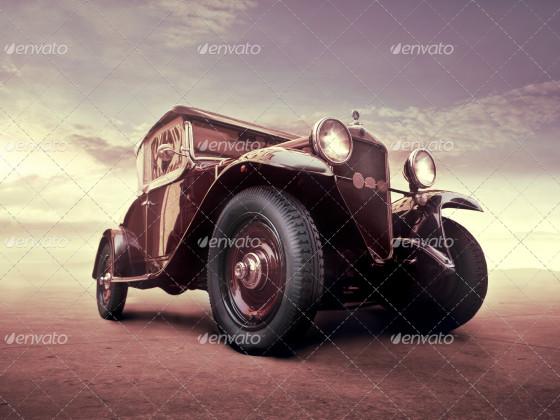 Vintage on the Road